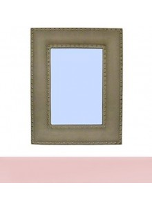 LEATHERETTE MIRROR MOQ 1 Pcs
