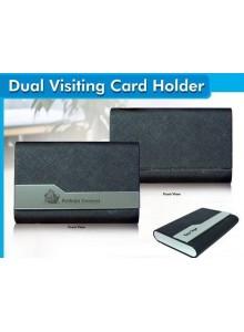 DUEL VISITING CARD HOLDER MOQ 25 Pcs