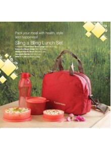TUPPERWARE SLING A BLING LUNCH SET MOQ 50 Pcs