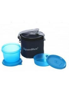 POWER PLUS OCTOMEAL LUNCH BOX - 3 CONTAINERS MOQ 40 Pcs