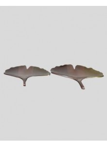 DECORATIVE LEAF TRAY SET OF 2 MOQ 1 Pcs