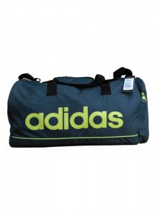 ADIDAS TRAVEL BAG GREY/GREEN  MOQ - 50 PCS