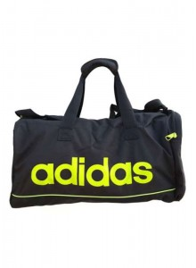 ADIDAS TRAVEL BAG BLACK/GREEN MOQ - 50 PCS