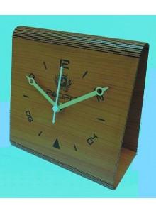 WOODEN TABLE CLOCK MOQ 25 Pcs