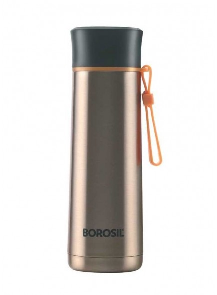 Borosil Flask Gold  Sprint MOQ - 25