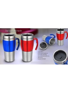 DUAL SIPPER WITH HANDLE MOQ 25