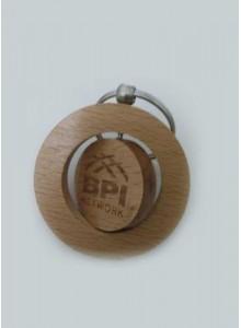 Wooden Keychain Revolving MOQ - 200 PCS