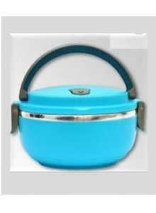 SINGLE CASSEROLE LUNCH BOX CYAN BLUE MOQ 50 Pcs
