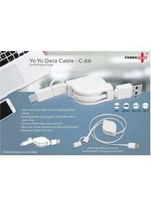 YO YO Data Cable MOQ - 50 PCS