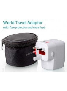 POWER PLUS WORLD TRAVEL ADAPTER MOQ 50 Pcs